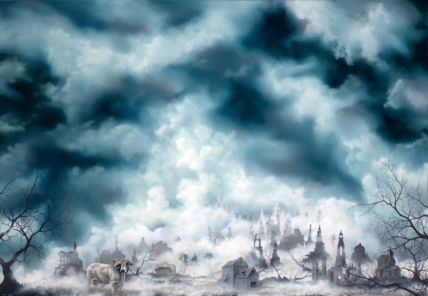 brahman painting by brian mashburn